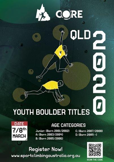 2020 Youth Boulder Titles at Core Climbing